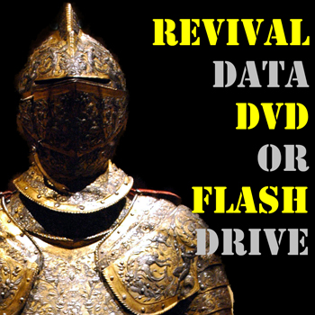 revival data dvd